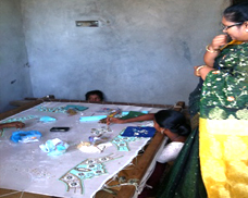 Self Employment Training inside the Slum.